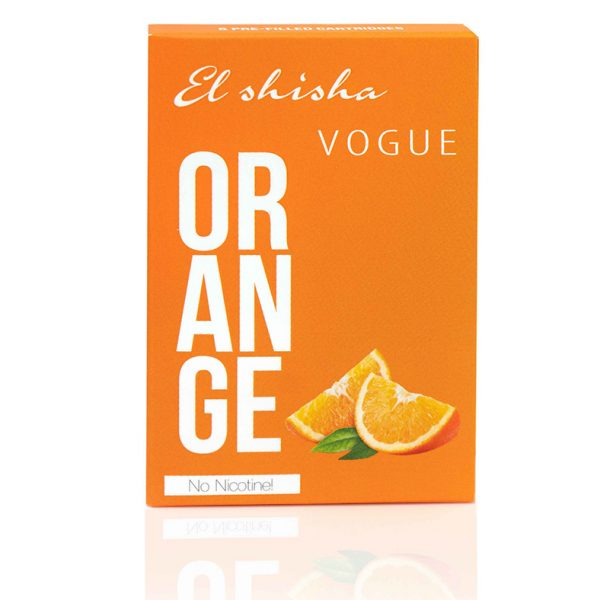 El Shisha Vogue Orange