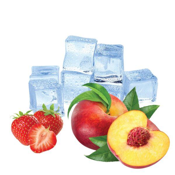 El Shisha Strawberry Peach Ice