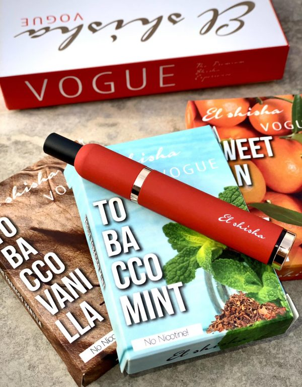 El Shisha Vogue Red