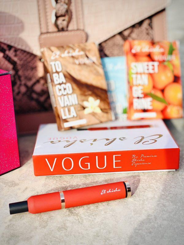 El Shisha Vogue Red